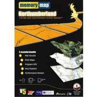 Memory Map Explorer Northumberland CD ROM