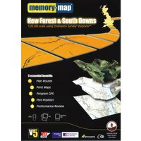 Memory Map Explorer New Forest and South Downs CD ROM, Assorted
