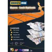 Memory Map Explorer Munros - Loch Rannoch & Loch Lomond Cd Rom - Multi/Asso, Multi/ASSO