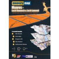 Memory Map Explorer Loch Rannoch and Loch Lomond CD ROM, ASSO/ASSO