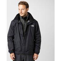The North Face Mens Resolve HyVent Jacket, Black