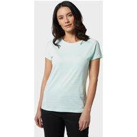 Mountain Hardwear Women's Mighty Stripe Short Sleeve T-Shirt, Green/GRN