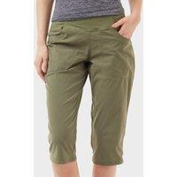 Mountain Hardwear Women's Dynama Capri Pants, Khaki