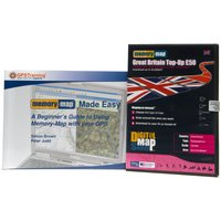 Memory Map Great Britain Top-Up £50 - Assorted, Assorted