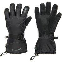 Trekmates Mens mountainXT DRY Snow Gloves, Black