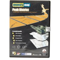 Memory Map Explorer Peak District CD ROM