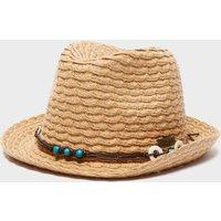 Trekmates Womens Straw Hat - Beige, Beige