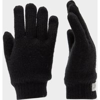 Peter Storm Boys' Thinsulate Knit Gloves, Black