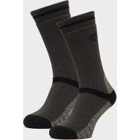 Peter Storm Heavyweight Outdoor Socks - Twin Pack - Grey, Grey