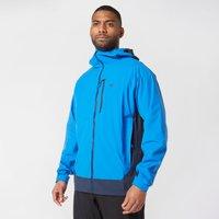 Mountain Hardwear Men's Stretch Ozonic Waterproof Jacket, Blue