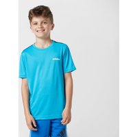 Adidas Kids' Linear T-Shirt, Blue
