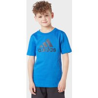 Adidas Kids' Must Haves T-Shirt, Blue