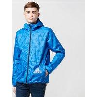 Adidas Junior's Must Haves Windbreaker, Blue