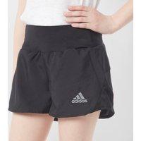 Adidas Kids' Training Run Shorts, Black