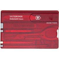 Victorinox SwissCard Classic, Red