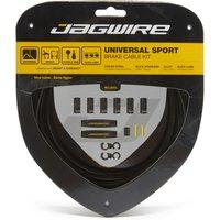 Jagwire Universal Sport Brake Cable Kit - Black, Black