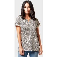 Brasher Womens Cotton T-Shirt - Navy, Navy