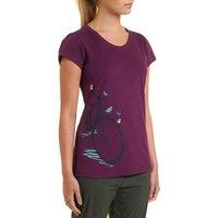 Peter Storm Womens Big Bike T-Shirt, Purple