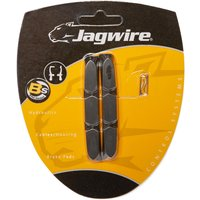 Jagwire Mountike Bike Brake Block Inserts - Black/Blk, Black/BLK