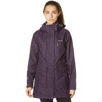 Craghoppers Womens Madigan Long Waterproof Jacket, Purple