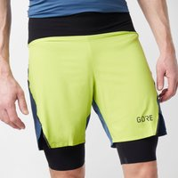 Gore Men's R7 2in1 Shorts, Yellow