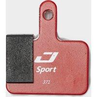 Jagwire Shimano Deore Mountain Sport Brake Pads, Red/Black