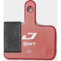 Jagwire Shimano Deore Mountain Sport Brake Pads - Red, Red