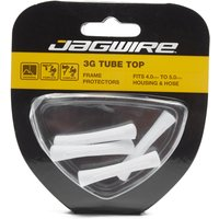 Jagwire Tube Tops 4 Pack  White
