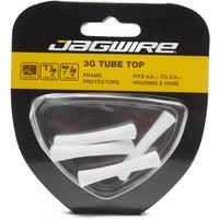 Jagwire Tube Tops 4 Pack - Wht/Wht, WHT/WHT