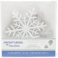 Peter Storm Kids Reusable Handwarmers Snowflake, White