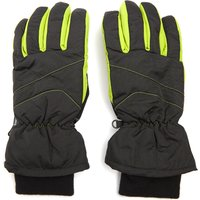 Peter Storm Mens Ski Gloves, Black
