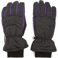 Peter Storm Womens Ski Gloves, Black