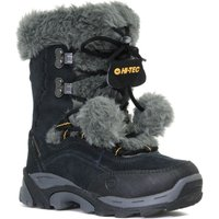 Hi Tec Girls St Moritz Waterproof Snow Boot, Black