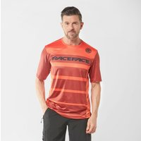 Raceface Men's Indy Short Sleeve Jersey, Red