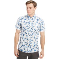 Protest Mens Cooldown Short Sleeve Shirt, White