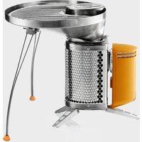 Biolite Campstove Portable Grill - Silver/Silver, Silver/Silver
