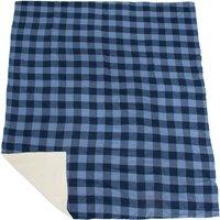 Eurohike Checked Blanket, Blue