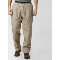 Craghoppers Mens Kiwi Zip-Off Trousers - Beige/Brown, Beige/Brown