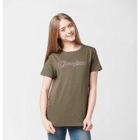 Berghaus Kids' Logo T-Shirt, Khaki