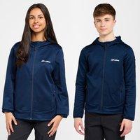 Berghaus Kids' Pravitale Full-Zip Hooded Jacket, Navy/NVY