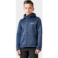 Berghaus Kids' Pravitale Full-Zip Hooded Jacket, Navy