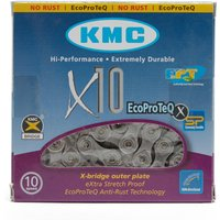 Kmc Chains 114 Link 10 Speed Chain, Silver