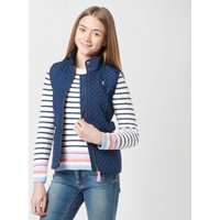 Joules Kids' Jilly Quilted Gilet, Navy