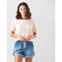 Roxy Women's Star Solar T-Shirt, PNK/PNK