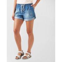 Roxy Women's Arecibo Denim Shorts, Blue