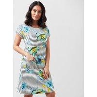 Weird Fish Women's Tallahassee Dress, Cream