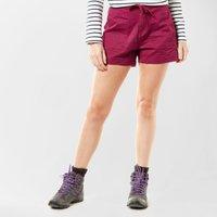 Weird Fish Women's Willoughby Shorts, Purple