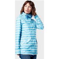 Weird Fish Womens Antonia Showerproof Jacket - Blue, Blue