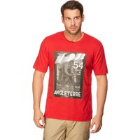 Peter Storm Mens Tour T-Shirt, Red