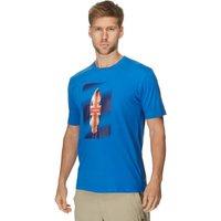 Peter Storm Mens Board T-Shirt, Blue